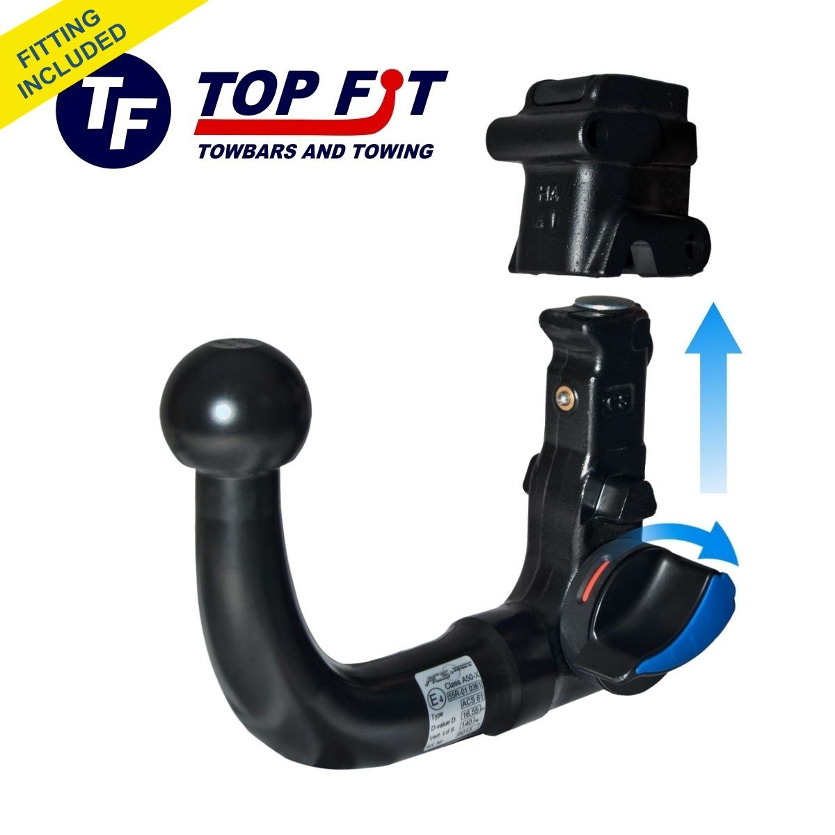 Citroen C4 Picasso And Grand Picasso 2014 To Present Swan Neck Detachable Towbar  U2013 Top Fit