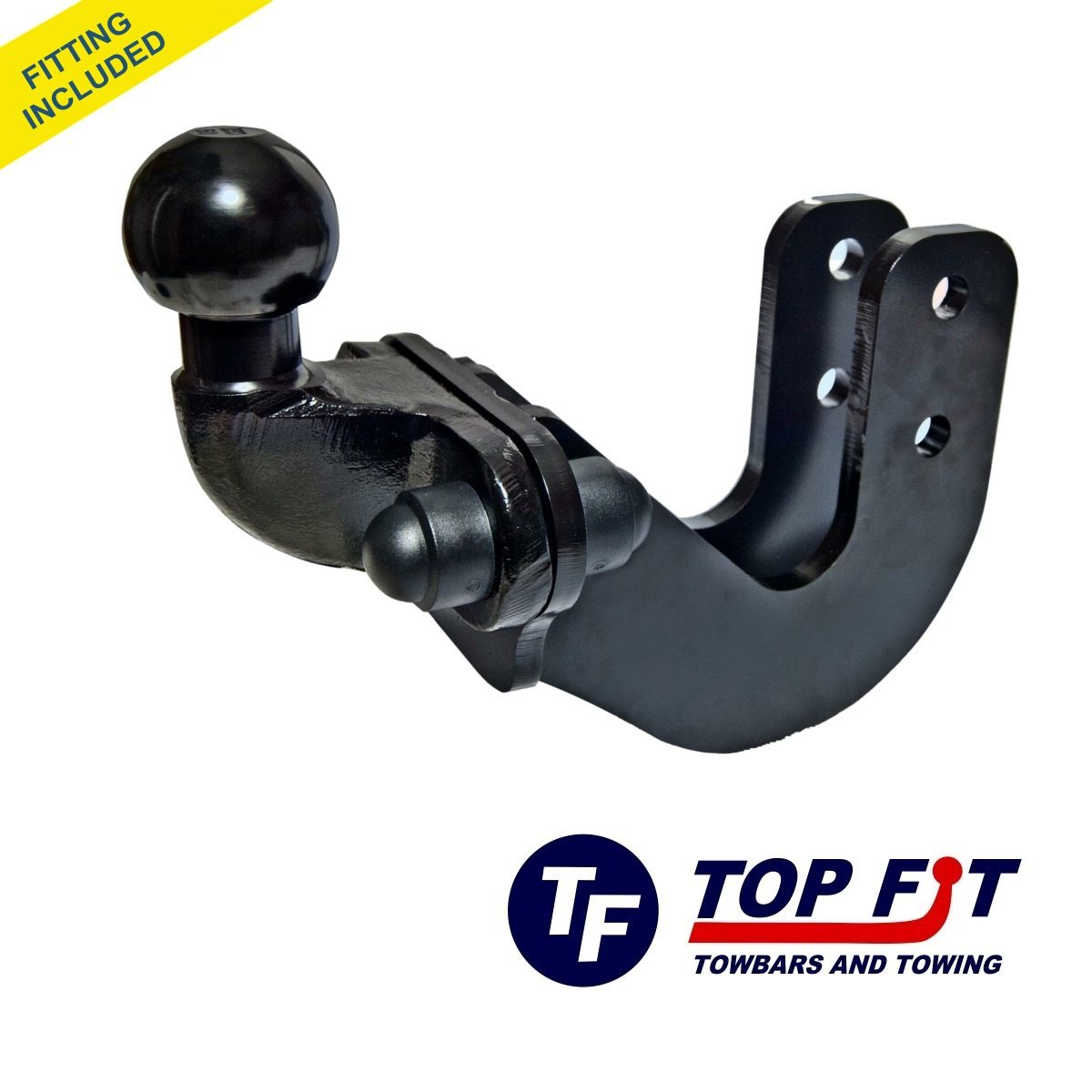 VOLVO S80 SALOON 1998 TO 2006 FLANGE TOWBAR